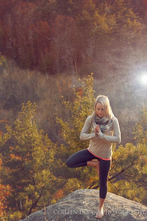 yoga, yoga at sunset, yoga postures, new hampshire yoga